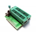 Adapter 8-bit Flash/Eprom Board DIL28 ZIF