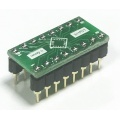 Adapter LGA16 3x3mm (0,5mm) --> DIL16 (PDIP16) 2,54/0.300""