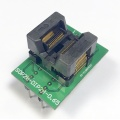 Adapter SSOP28 / TSSOP28 (R=0,65mm / W=200mils) -->DIL28 (R=2,54mm / W=300mils) Open Top ZIF