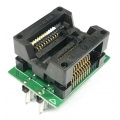 Adapter uniwersalny SOIC20 / SOP20 / SO20 (300mil) --> PDIP20 / DIL20 (300mil) open top ZIF