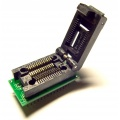 Adapter uniwersalny SOIC28 / SOP28 / SO28 (R=1,27mm / W=300mils) --> PDIP28 / DIL28 (R=2,54mm / W=470mils) Clam Shell ZIF