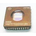 Pamięć EPROM 27C1024 PLCC 44 (UV) Hitachi (zam. 27C1024/27C102 /27PC210), 85ns