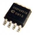 Pamięć Serial Flash 16-Mbit (2MB) SPI 25Q16 Winbond SO8 (SMD)