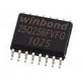 Pamięć Serial Flash 256-Mbit (32MB) SPI 25Q256 Winbond SO16 (SMD)