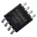 Pamięć Serial Flash 64-Mbit (8MB) SPI 25X64 Winbond SO8 (SMD)