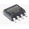 Pamięć Serial Flash  8-Mbit (1MB) SPI 25Q80 Winbond SO8 (SMD)